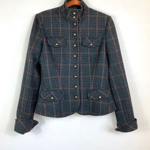 Peruvian Connection Fitted Alpaca Wool Jacket